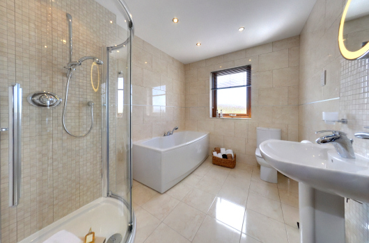 Millwheel Cottage Bathroom, Dumfries & Galloway