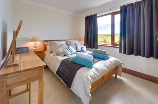 Millwheel Cottage Double Bedroom, Kirkbride Farm, Dumfries &amp' Galloway